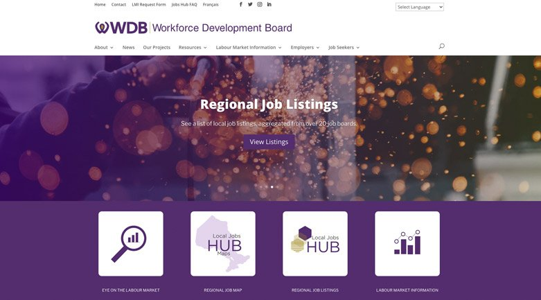 workforce-development-board-website-design